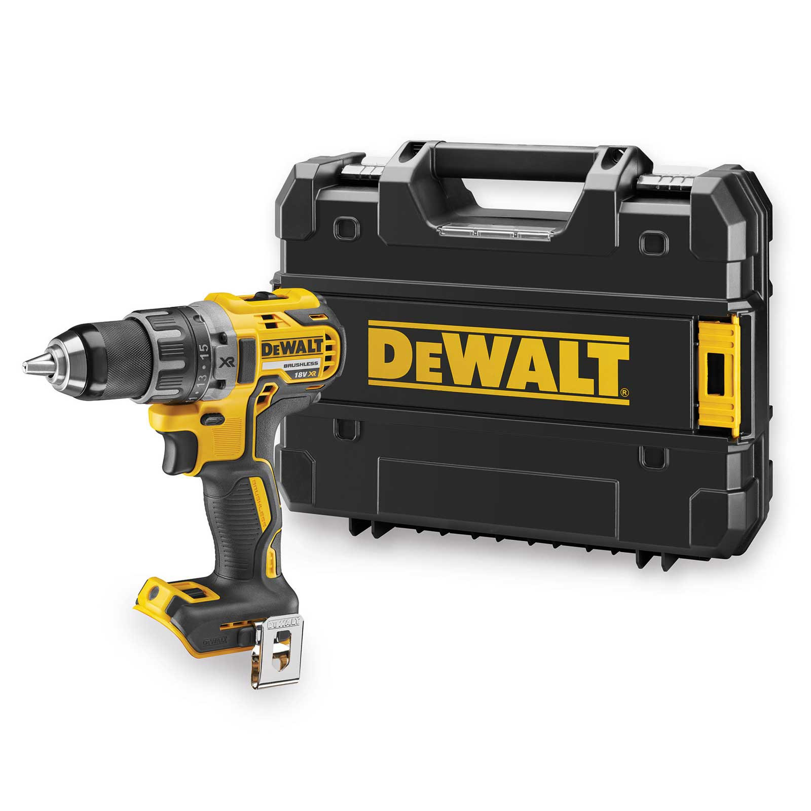 dewalt dcd791nt xj akku bohrschrauber 18 v xr inkl tstak box ebay. Black Bedroom Furniture Sets. Home Design Ideas