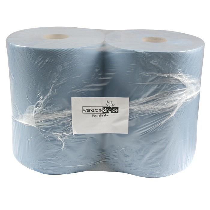 putzt cher papierrolle putzrolle tuch blau 3 lagig 2. Black Bedroom Furniture Sets. Home Design Ideas