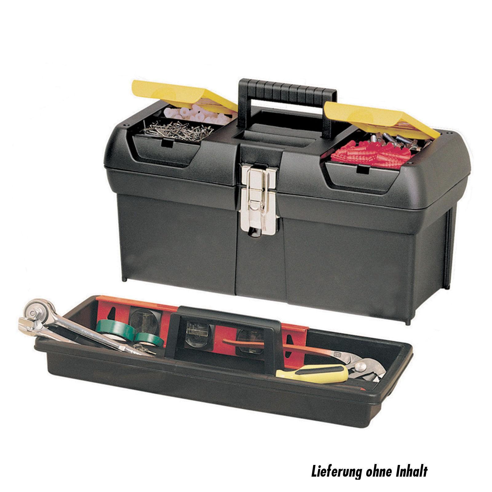 stanley 1 92 065 werkzeugbox millenium werkzeug zubeh r werkzeugkoffer taschen organizer. Black Bedroom Furniture Sets. Home Design Ideas