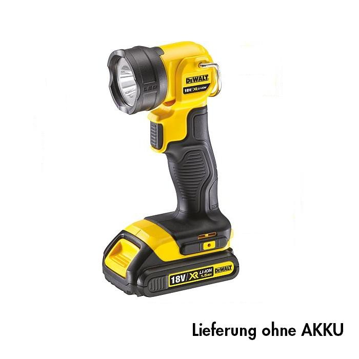 dewalt akku lampe led dcl040 xj werkzeug zubeh r elektrowerkzeuge akku lampen. Black Bedroom Furniture Sets. Home Design Ideas