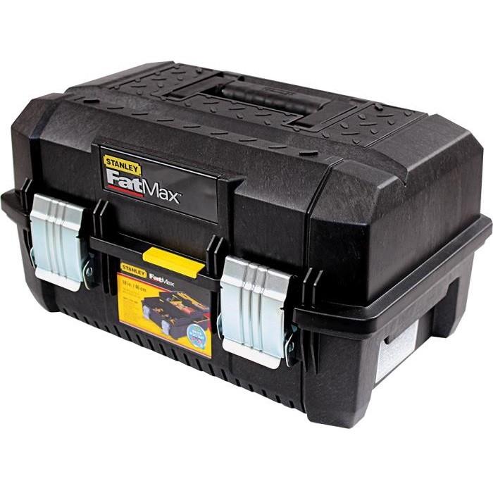 stanley fatmax cantilever werkzeugbox werkzeug zubeh r werkzeugkoffer taschen organizer. Black Bedroom Furniture Sets. Home Design Ideas